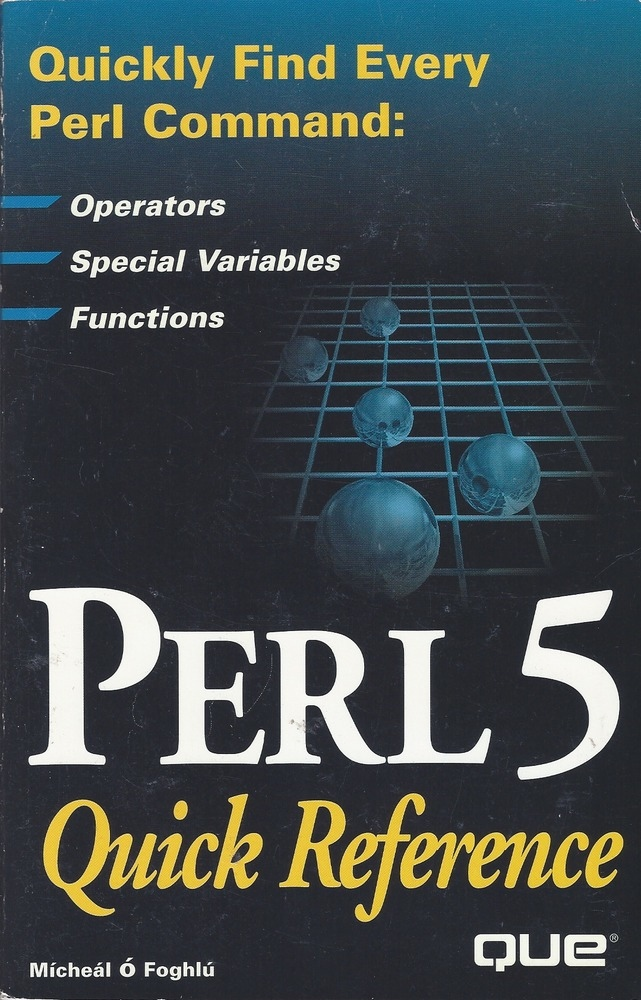 Perl 5 Quick Reference