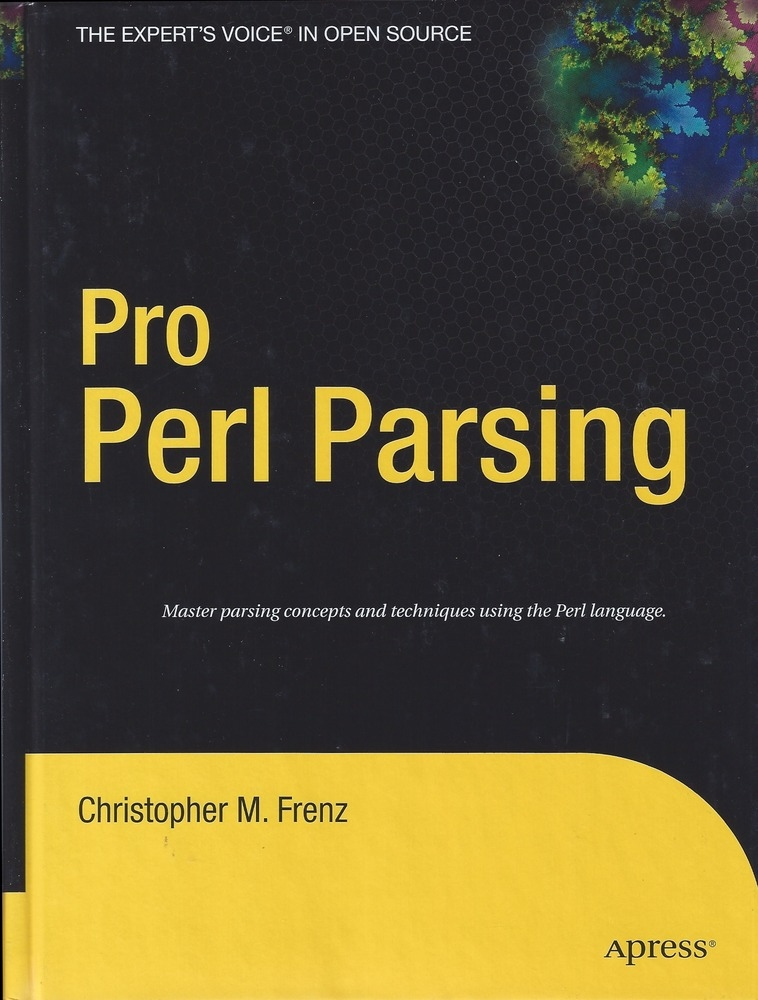 Pro Perl Parsing