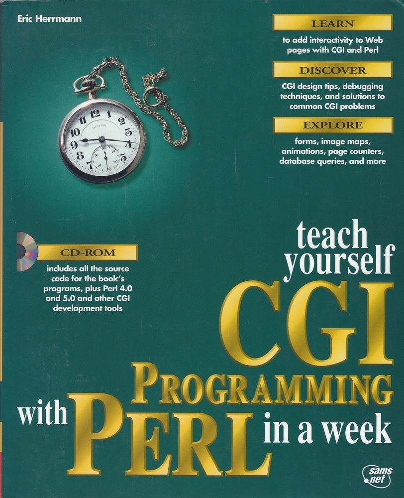 Teach Yourself CGI Programming in a Week