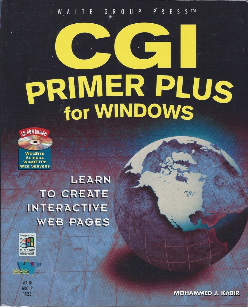 CGI Primer Plus for Windows