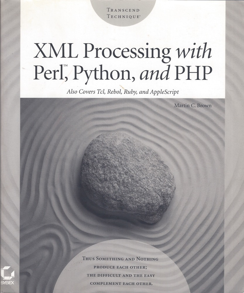 XML Processing with Perl, Python, and PHP