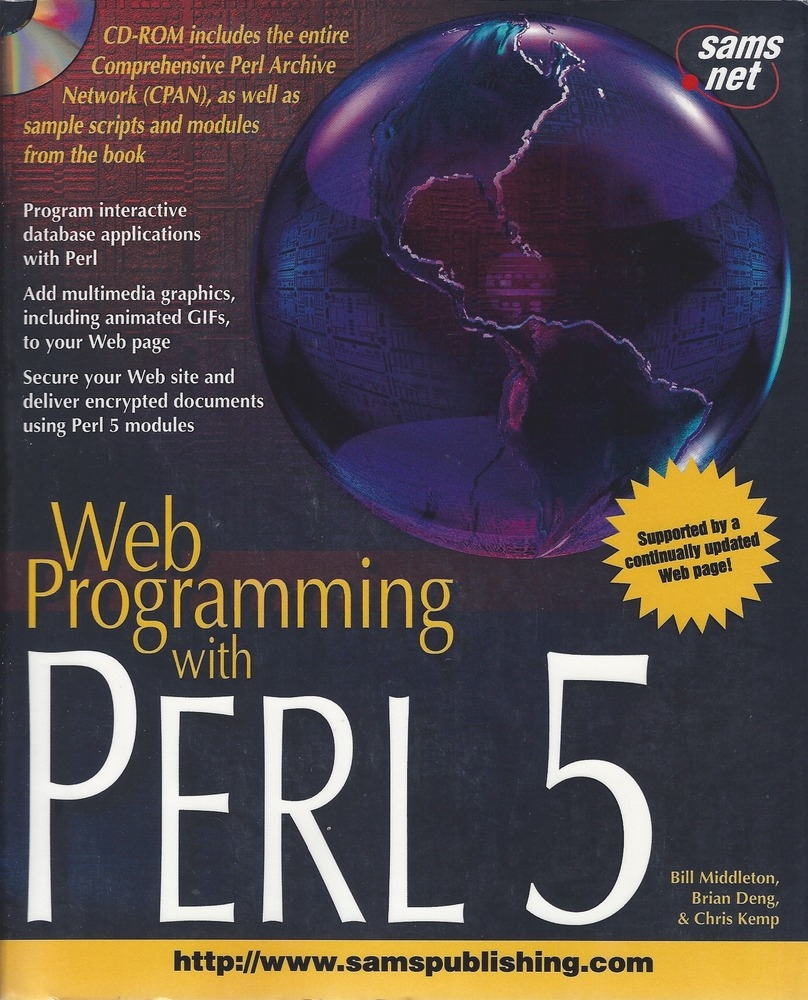 Web Programming with Perl 5